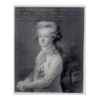 Mariscal Charles-José Príncipe de Ligne Póster