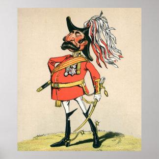 Mariscal de campo británico impresiones