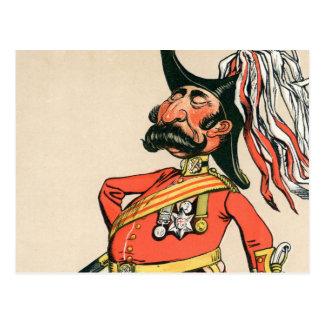 Mariscal de campo británico postales
