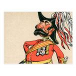 Mariscal de campo británico tarjetas postales