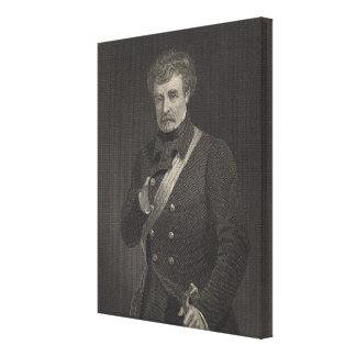 Mariscal de campo Colin Campbell Impresión En Lienzo Estirada