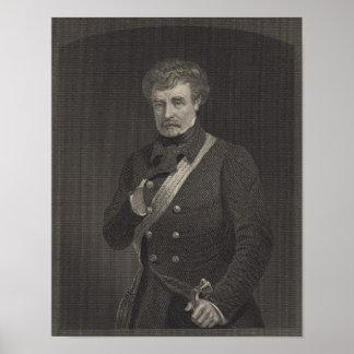 Mariscal de campo Colin Campbell Póster