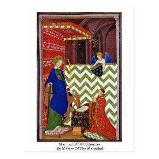 Mariscal de St.Catherine por el amo del Marechal Postales