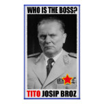 MARISCAL JOSIP BROZ TITO BOSS IMPRESIONES