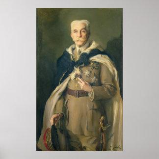 Mariscal Louis Huberto Gonzalve Lyautey 1929 Póster