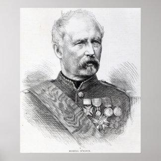 Mariscal MacMahon Póster
