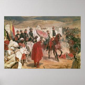 Mariscal Thomas Bugeaud y coronel José Poster