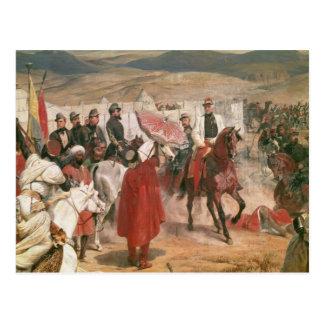 Mariscal Thomas Bugeaud y coronel José Tarjeta Postal