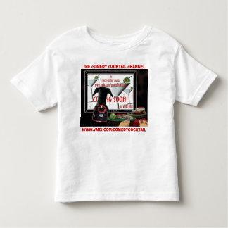 Marisela -customizable comedy cocktail toddler t-shirt