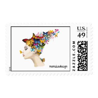 "Mariska Stamps ""Butterfly Beauty"""