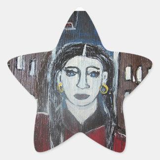 MARISSA GLITZ OF RIDDLE HEIGHTS STAR STICKER