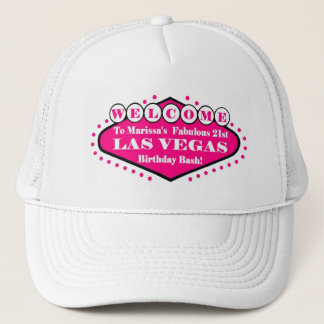 Marissa's Fabulous 21st Las Vegas Birthday Bash Ha Trucker Hat