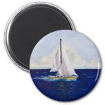 marissa's sailboat magnet