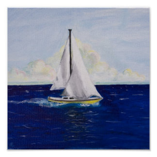 marissa's sailboat poster