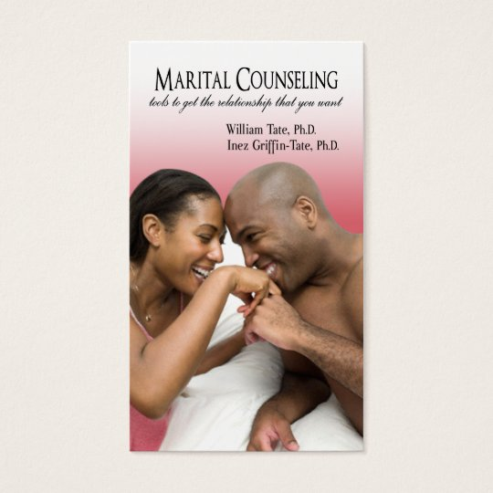 Marital Counseling, Couples Therapy Business Card