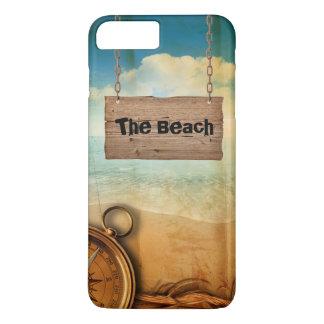 Maritim Design with Name iPhone 7Plus Case