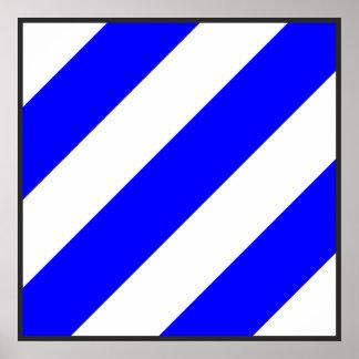 maritime alphabet signal flag number 6 six letter poster