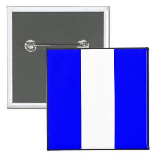maritime alphabet signal flag number 9 nine letter button