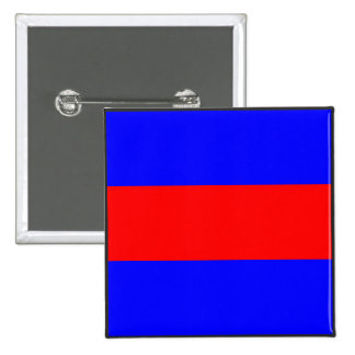 maritime alphabet signal flag number three letter button