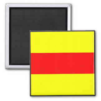 maritime alphabet signal flag number two 2 letter magnet