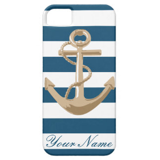 Maritime and Nautical with Anchor iPhone 5 Cases