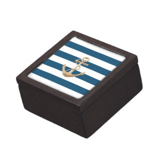 Maritime and Nautical with Anchor - Gift Box