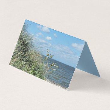 Beach Themed Maritime beach landscape office business card