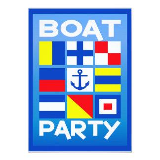 Maritime Boat Party invitation