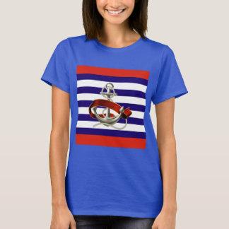 Maritime Chic Ladies T-Shirt