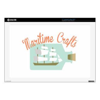Maritime Crafts Laptop Decals