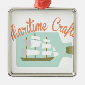 Maritime Crafts Metal Ornament