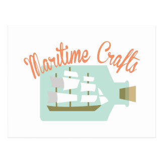 Maritime Crafts Postcard