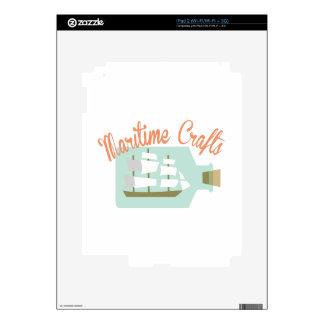 Maritime Crafts Skin For iPad 2