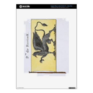 Maritime Flag with Griffin Emblem denoting de Rost iPad 3 Decals