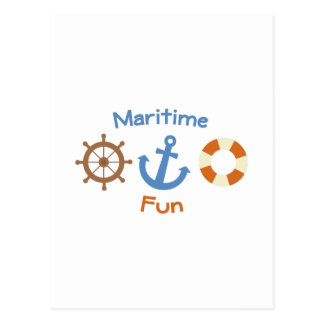 Maritime Fun Postcard
