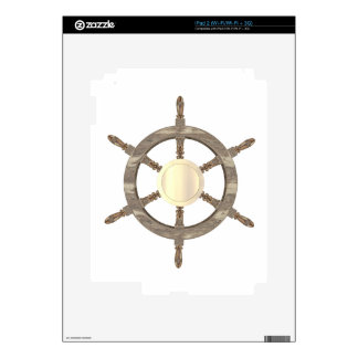 Maritime Helm Decal For iPad 2