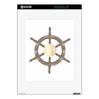 Maritime Helm iPad Skin