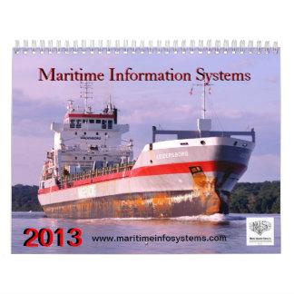 Maritime Information Systems 2013 Calendar