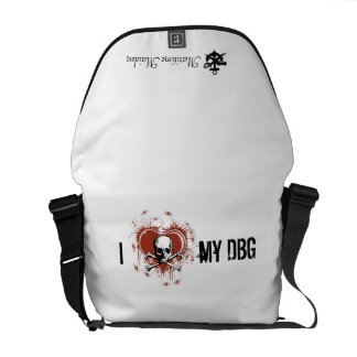 Maritime Maiden - DBG Love Messenger Bag