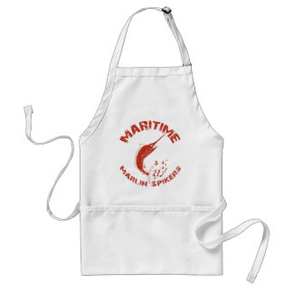Maritime Marlin Spikers Adult Apron