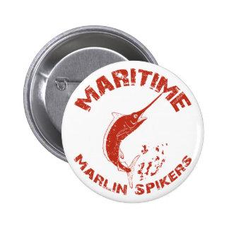 Maritime Marlin Spikers Button