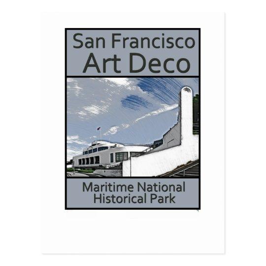 Maritime National Historical Park Postcard