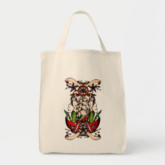 Maritime Old School Tote Canvas Bags