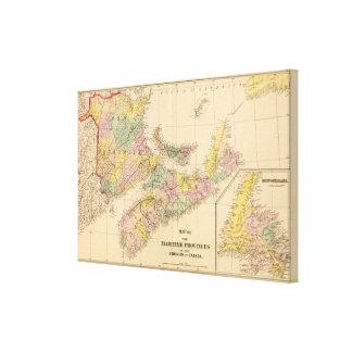 Maritime Provinces Canvas Print