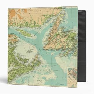 Maritime Provinces Newfoundland 3 Ring Binders
