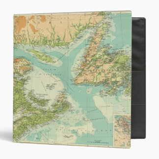 Maritime Provinces Newfoundland Binder