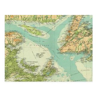 Maritime Provinces & Newfoundland Postcard
