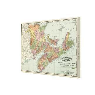Maritime Provinces of Canada Canvas Print