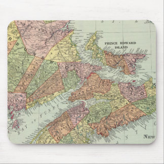 Maritime Provinces of Canada Mouse Pad