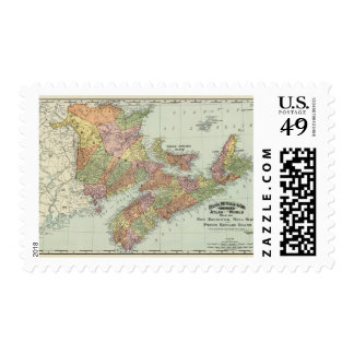 Maritime Provinces of Canada Postage